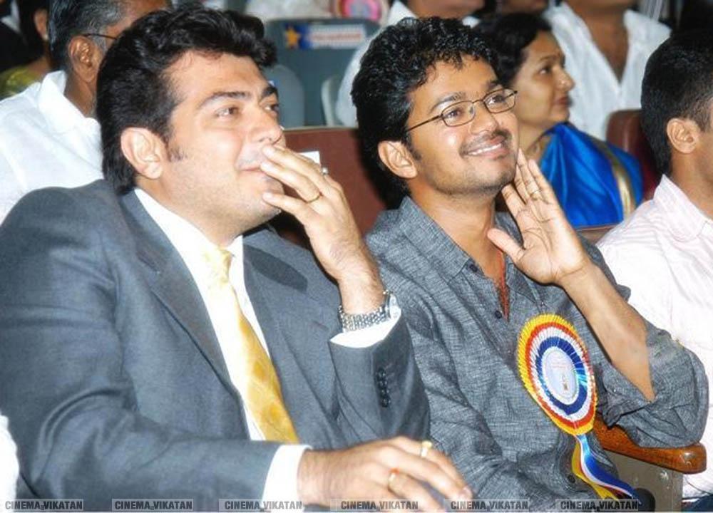 அஜித்-விஜய் ஃபிரெண்ட்ஷிப்! #AjithVijayFriendship