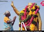 எம்ஜிஆர் நினைவு தினம் பொதுமக்கள் மாலை அணிவித்து மரியாதை newsinphotos