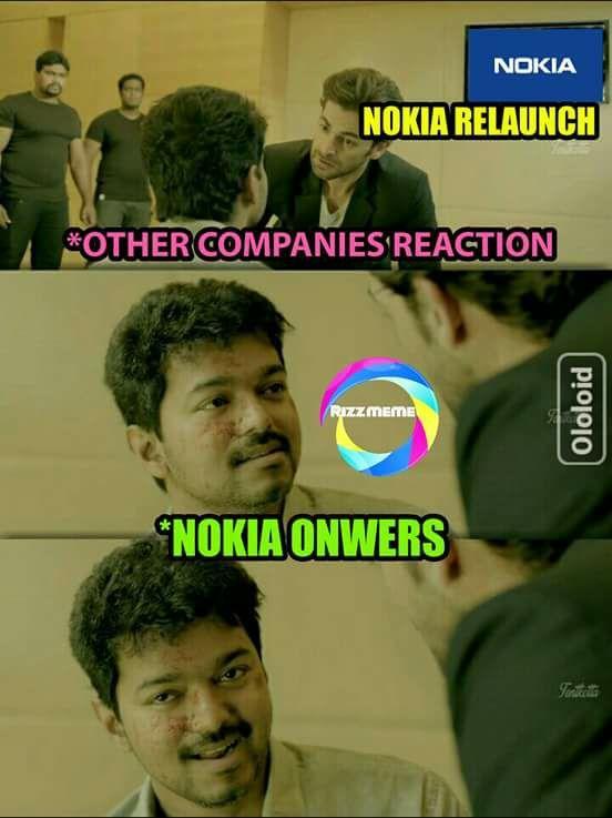 நோக்கியா ரிட்டர்ன்ஸ்...இணையத்தைக் கலக்கிய மீம்ஸ் தொகுப்பு! #Nokia3310