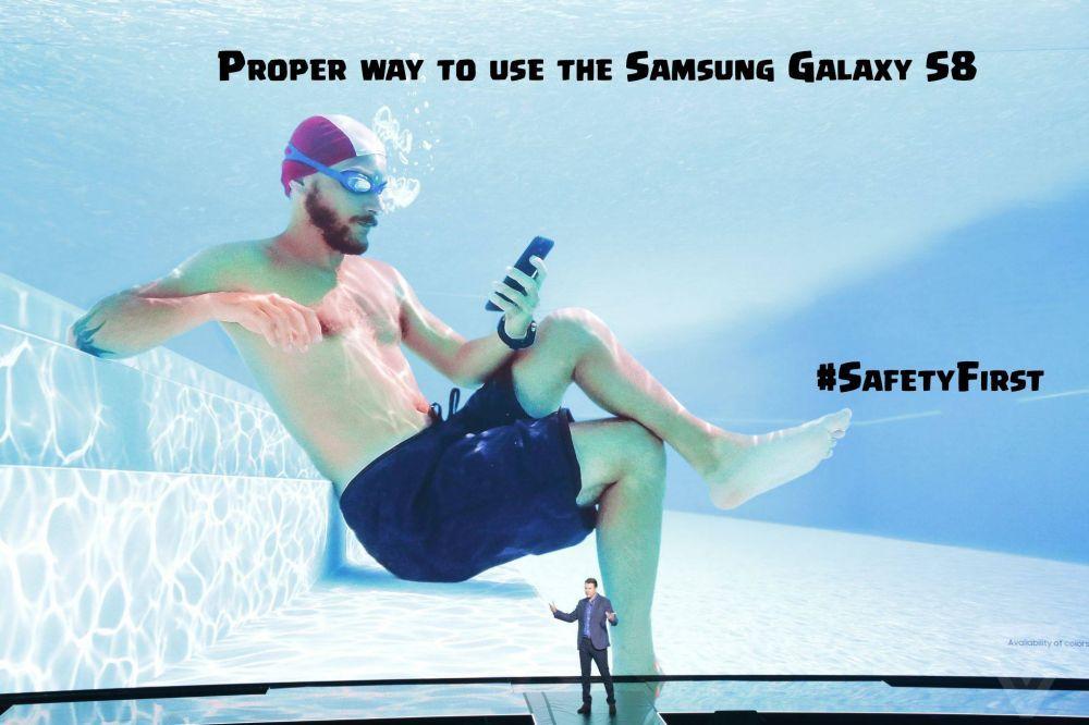 சாம்சங் எஸ்8 மீம்ஸ் #GalaxyS8