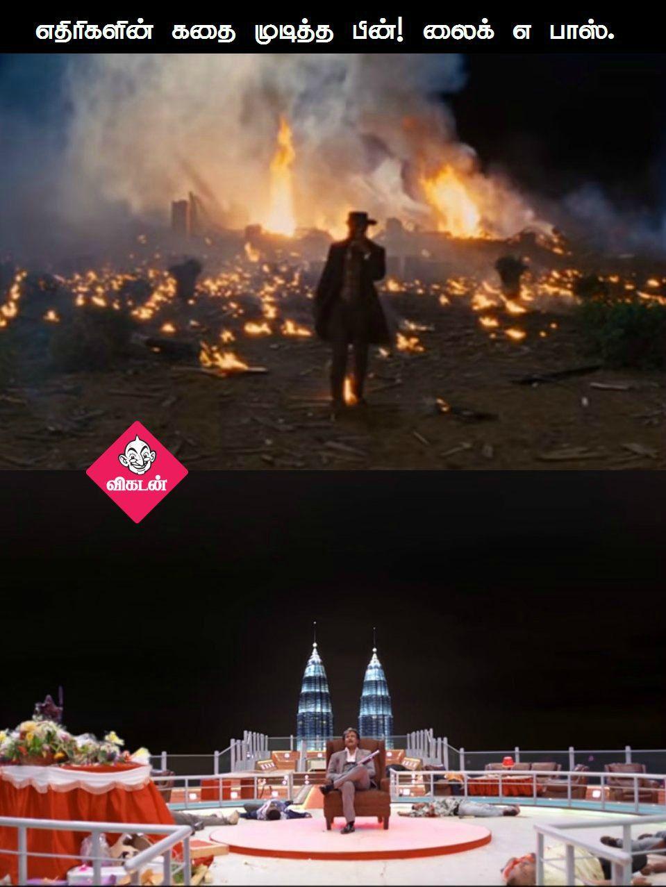 கபாலியும் Django Unchained படமும்... சில சர்ப்ரைஸ் ஒற்றுமைகள்! #VikatanPhotoCards