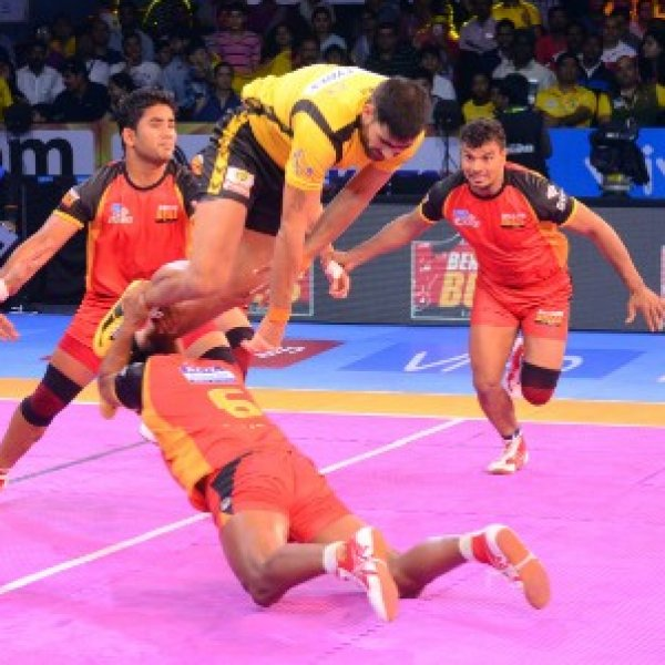 Pro Kabaddi league TELUGU TITANS VS BENGALURU BULLS Match album