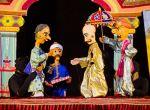 சென்னையில் சுட்டீஸ்களுக்காக நடத்தப்பட்ட பாரம்பர்ய கலையான பொம்மலாட்டம் படங்கள் கமீனாட்சி
