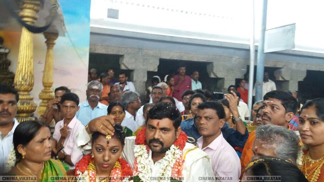 நடிகர் காளி வெங்கட் திருமண ஆல்பம்..!