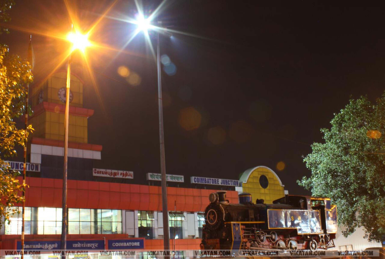கோவை இரவு நேர ரவுண்ட் அப்... சிறப்பு புகைப்படத் தொகுப்பு... படங்கள் - க.விக்னேஷ்வரன்