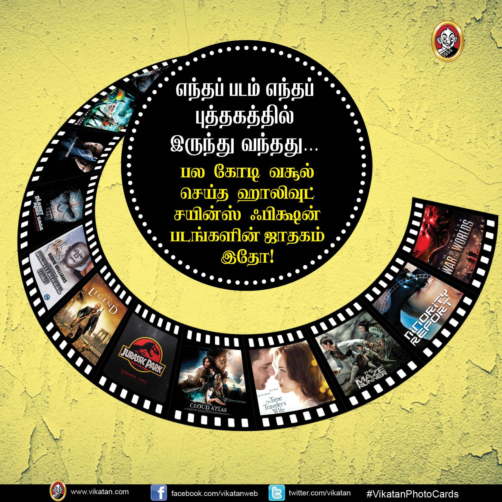 பல கோடி வசூல் செய்த ஹாலிவுட் சயின்ஸ் ஃபிக்ஷன் படங்களின் ஜாதகம்! #VikatanPhotoCards
