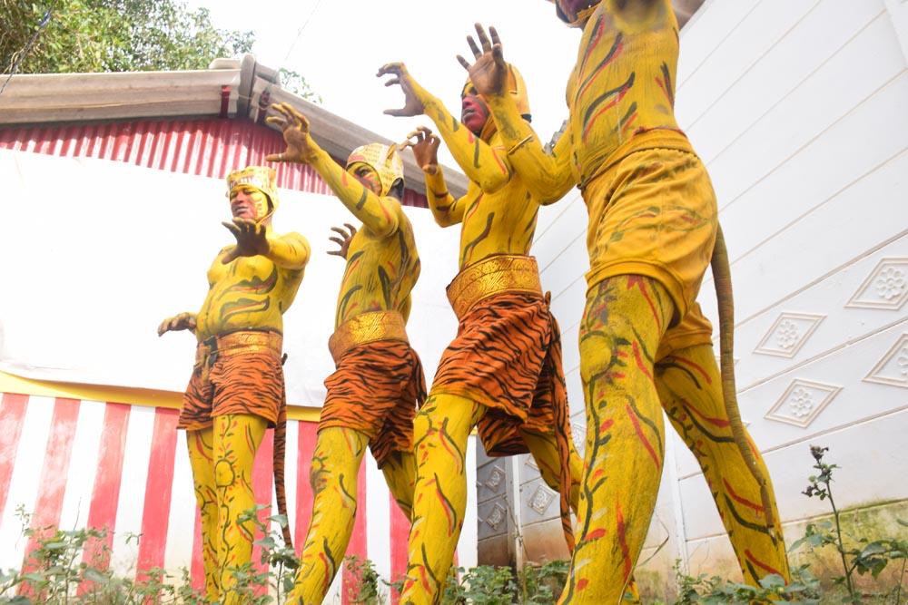தஞ்சையில் கொண்டாடப்பட்ட பொங்கல் திருநாள் கொண்டாட்டம்; கே.குணசீலன்