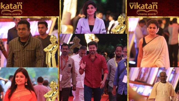 ஆனந்த விகடன் சினிமா விருதுகள் 2017 - ஸ்பெஷல் ஆல்பம்!