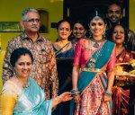 லட்சுமி ராமகிருஷ்ணன் மகளின் லவ் மேரேஜ் ஆல்பம்