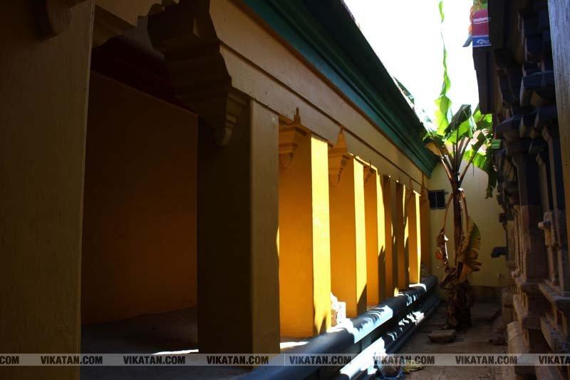 ஆயிரம் ஆண்டுகள் பழமை வாய்ந்த திருவெள்ளியங்குடி கோலவில்லி ராமர் கோவிலின் அழகிய படங்கள்... படங்கள் - செ.ராபர்ட்