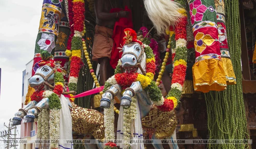 உறையூர் வெக்காளியம்மன் கோவில் சித்திரை திருத்தேரோட்டம் படங்கள் - தே.தீட்ஷித்