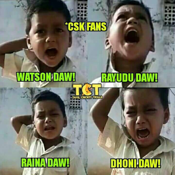 அடடட..! ஆரம்பமே... அதிருதடா!  ஐ.பி.எல் முதல் மேட்ச் மீம்ஸுக்கா பஞ்சம்!  #IPL2018