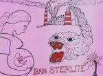 தூத்துக்குடி ஸ்டெர்லைட் ஆலை பாதிப்பின் வலியை சொல்லும் ஓவிய கண்காட்சி படங்கள் ஏசிதம்பரம்