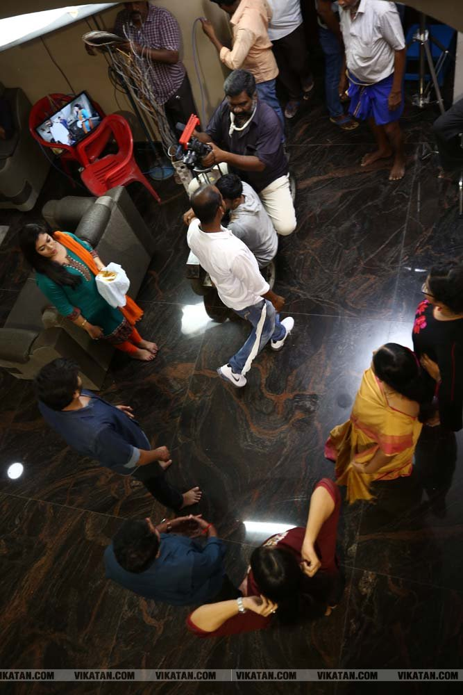 'நிறம் மாறாத பூக்கள்' ஷூட்டிங்ல ஸ்பாட் படங்கள் - ஜெ.வேங்கடராஜ்
