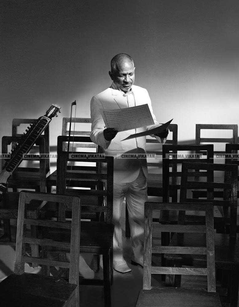 போட்டோ ஷூட் வித் இளையராஜா - ஜி.வெங்கட்ராமின் க்ளாசிக் க்ளிக்ஸ்..!