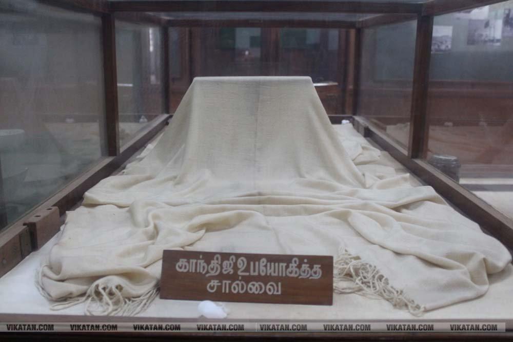 மதுரை காந்தி அருங்காட்சியகம்... சிறப்பு தொகுப்பு: ம.விக்னேஷ்
