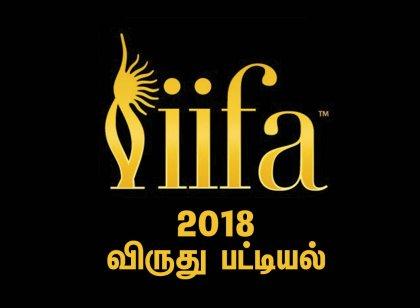 சிறந்த நடிகை ஸ்ரீதேவி, பெண் படத்தொகுப்பாளர்... IIFA விருதுகள் பட்டியல்