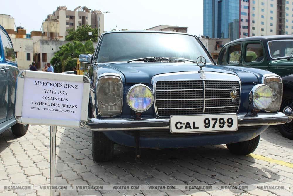 சென்னையில் நடைபெற்ற பழங்கால கார்கள் -  மோட்டார் சைக்கிள்கள் கண்காட்சி - வள்ளிசௌத்திரி ஆ