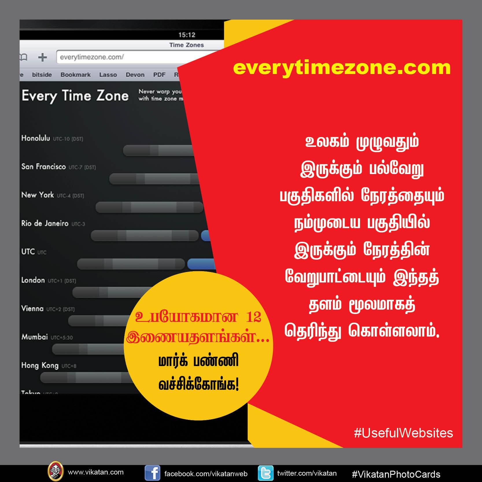 உபயோகமான 12 இணையதளங்கள்... மார்க் பண்ணி வச்சிக்கோங்க!  #UsefulWebsites #VikatanPhotoCards
