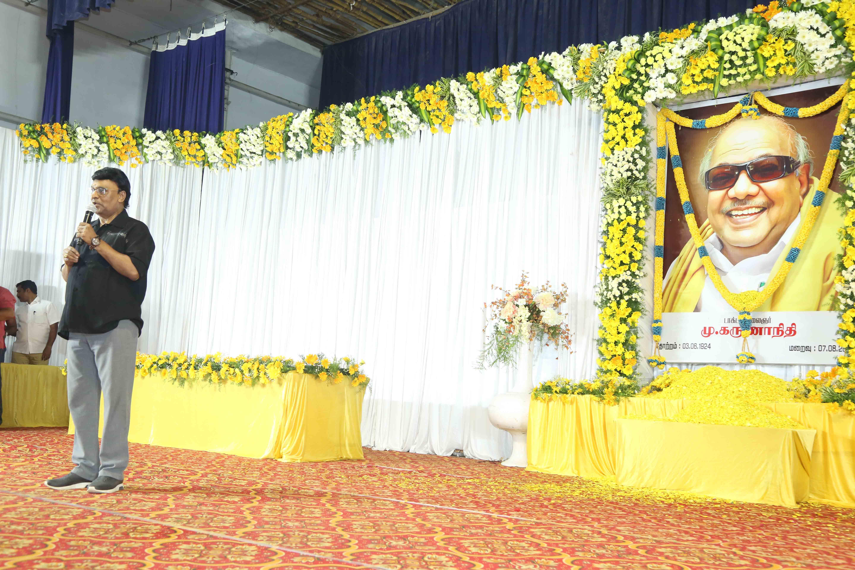 கருணாநிதிக்கு அஞ்சலி செலுத்திய தமிழ் சினிமாத்துறையினர்..!