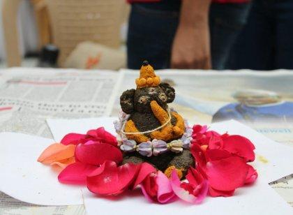 கோவையில் பல வண்ணங்களில், பல வடிவங்களில் 'Eco Friendly' பிள்ளையார்கள்...... படங்கள் - ஆயிஷா அஃப்ரா ஷே