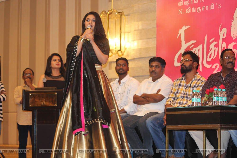 சண்டக்கோழி 2 படவிழாவில் கீர்த்தி சுரேஷ்.. படங்கள்: ராகேஷ் பெ