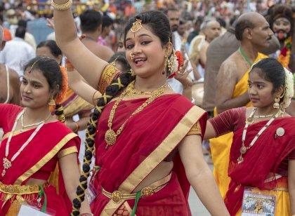 திருமலை திருப்பதியில் களைகட்டிய பிரம்மோற்சவம்!