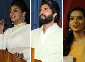 விஜய் தேவரகொண்டா நடித்திருக்கும் 'நோட்டா' படத்தின் பத்திரிகையாளர் சந்திப்பு..!