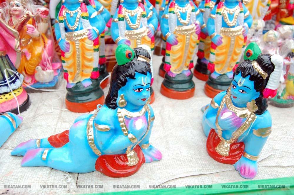 நாகர்கோவில் மற்றும் விழுப்புரத்தில் நடைபெற்ற கிருஷ்ண ஜெயந்தி விழா... படங்கள் - டி.சிலம்பரசன், ரா.ராம்குமார்