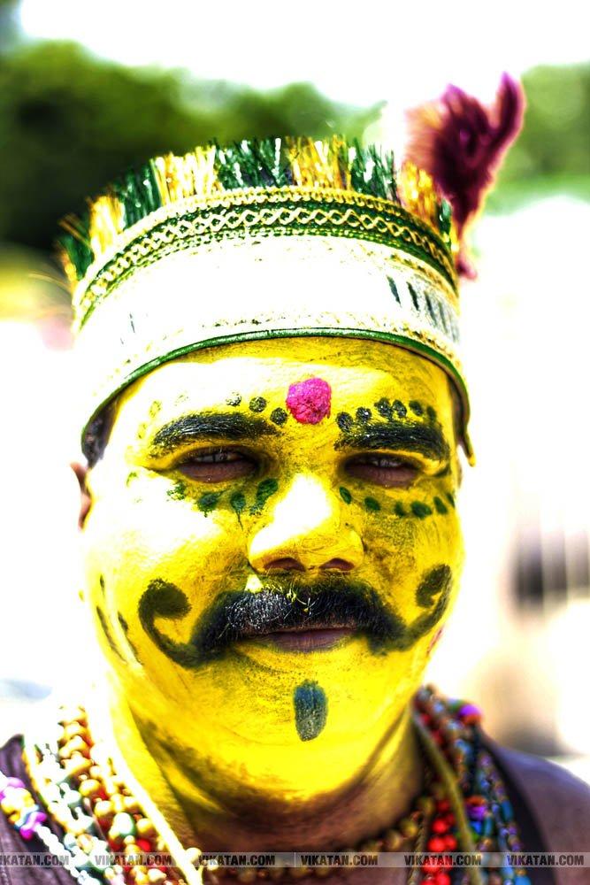குலசேகரப்பட்டினம் முத்தாரம்மன் கோயில் தசரா திருவிழா... சிறப்பு புகைப்பட தொகுப்பு