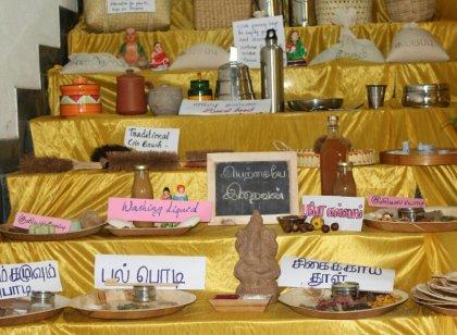 கோவையில் நடைபெற்ற நெகிழிக்கு மாற்று பொருட்களின் கண்காட்சி...  படங்கள்: ஆயிஷா அஃப்ரா