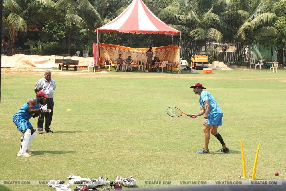 இந்தியா - வெஸ்ட் இண்டீஸ்... கடைசி டி-20 கிரிக்கெட் போட்டி சிறப்பு படங்கள்: தே.அசோக்குமார்