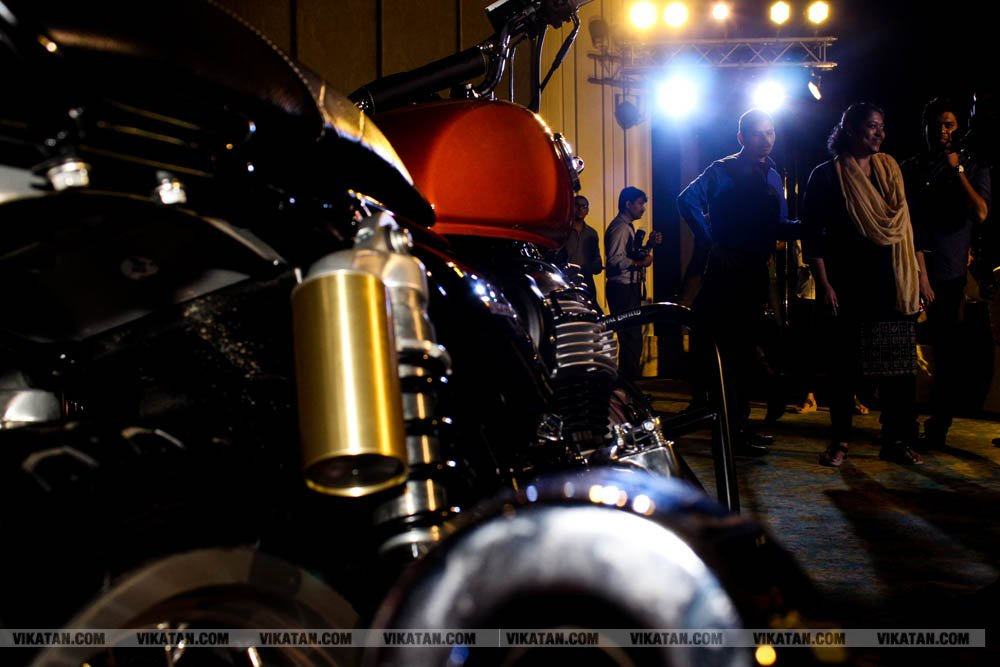 ROYAL ENFIELD INTERCEPTOR 650 & CONTINENTAL TWIN 650 பைக்.. சென்னையில் நடைபெற்ற அறிமுக விழா... படங்கள்: வள்ளிசௌத்திரி ஆ