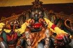 சென்னை காளிகாம்பாள் கோயிலில் ஶ்ரீபிரத்யங்கிரா மகா யாகம் படங்கள் ஆவள்ளி சௌத்ரி