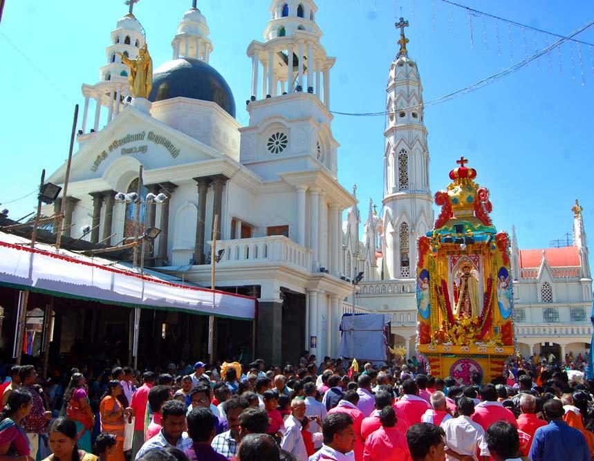 நாகர்கோவில் - கோட்டாறு புனித சவேரியார் பேராலய திருவிழா படங்கள்: ரா.ராம்குமார்