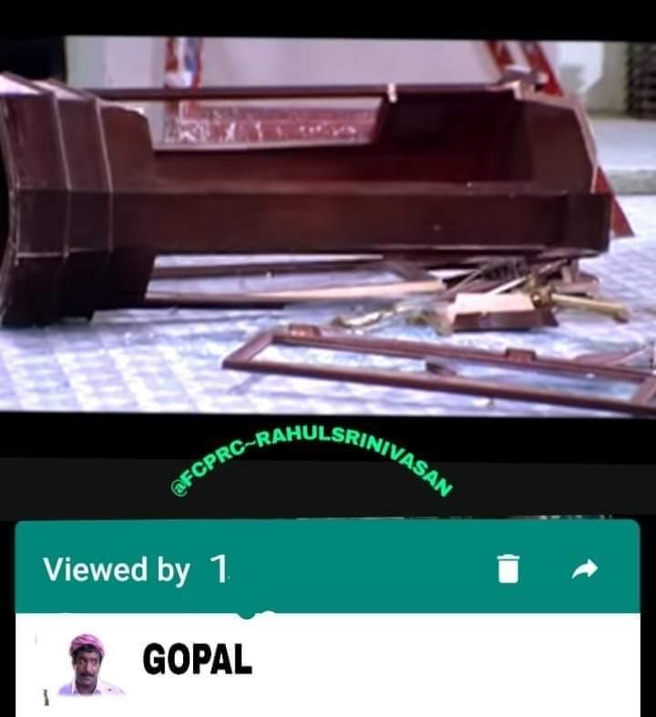 'ஆமா... நான் அத பாத்தேன்!'... வைரலாகும் வாட்ஸ்அப் 'Viewed by' மீம்ஸ் (ஆல்பம்)