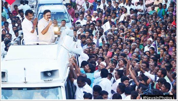 தேர்தல் பிரசாரத்தில் தினகரன்... தைபெருந்தேர்த்திருவிழா... #NewsInPhotos