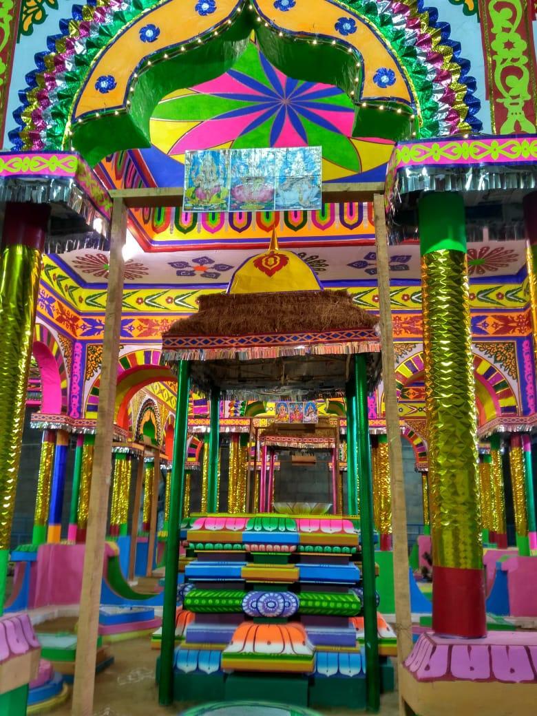 திருநள்ளாறு சனிபகவான் கோயில் கும்பாபிஷேக யாகசாலைப் படங்கள்:: பிரசன்னா சுபா