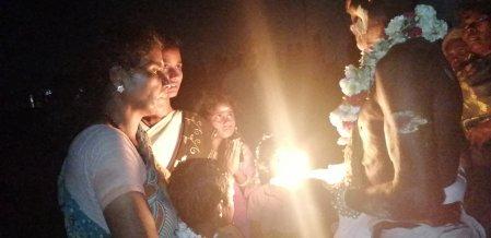 மாமல்லபுரத்தில் நடைபெற்ற இருளர் திருவிழா - படங்கள் : சி.வெற்றிவேல்