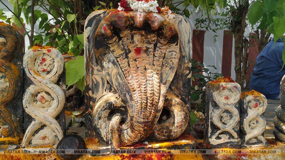 இராகு கேது பெயர்ச்சி 2019 - ஆதி இராகு கோயில் படங்கள் : ஹரீஷ் ம