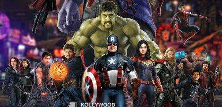 ரஜினி தானோஸ், ப்ளாக் பாந்தர் தனுஷ்! - இது கோலிவுட் அவெஞ்சர்ஸ் #VikatanPhotoCards