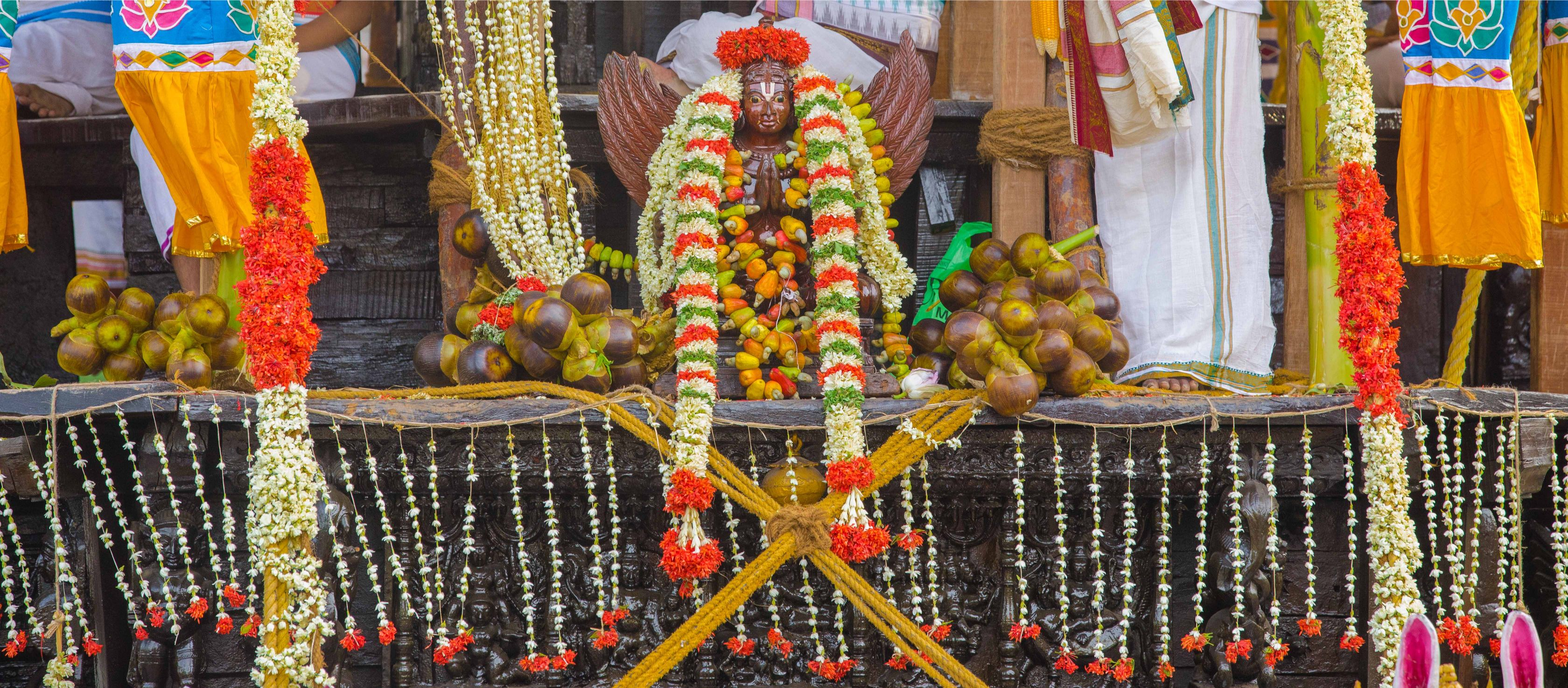 திருச்சி, ஸ்ரீரங்கம் ரங்கநாத சுவாமி கோயில் சித்திரைத் தேரோட்டம்