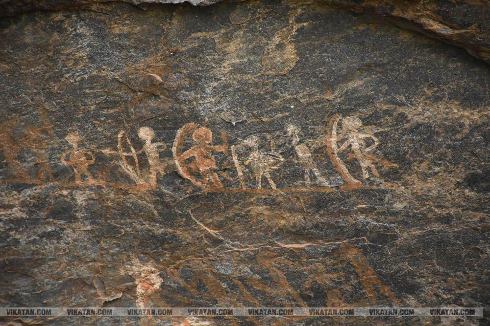 நீலகிரியில் 5000 ஆண்டுகள் பழைமையான பாறை ஓவியங்கள்! - முற்றிலும் அழிவதற்கு முன்பாக இதோ ஒரு புகைப்படத் தொகுப்பு