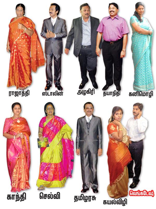Karunanidhi Family