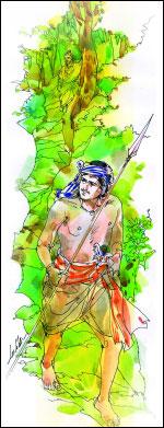 வீரயுக நாயகன் வேள் பாரி - 111 -சு.வெங்கடேசன் - சரித்திர தொடர் P100j
