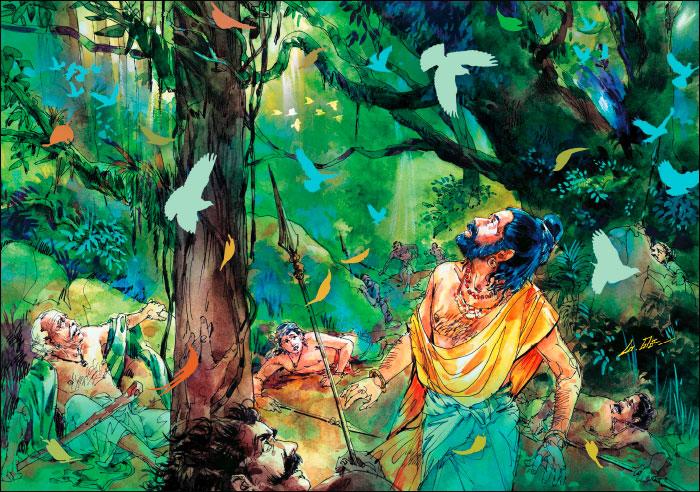 வீரயுக நாயகன் வேள் பாரி - 111 -சு.வெங்கடேசன் - சரித்திர தொடர் 83p21