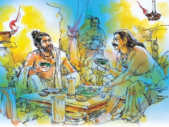 வீரயுக நாயகன் வேள் பாரி - 111 -சு.வெங்கடேசன் - சரித்திர தொடர் P115c