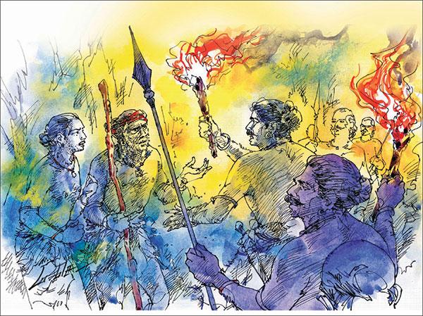 வீரயுக நாயகன் வேள் பாரி - 111 -சு.வெங்கடேசன் - சரித்திர தொடர் 25p3