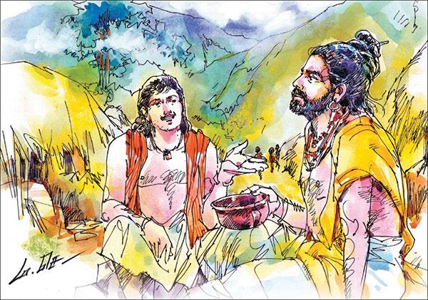 வீரயுக நாயகன் வேள் பாரி - 111 -சு.வெங்கடேசன் - சரித்திர தொடர் 25p4