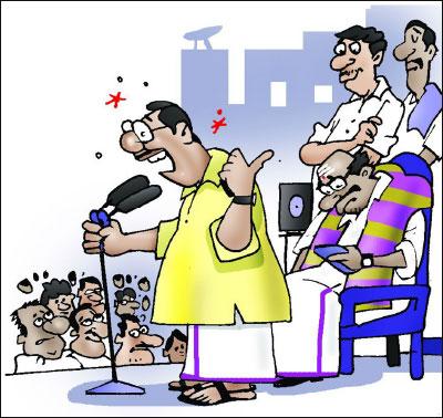 Image result for அரசியல் கூட்டம் கார்ட்டூன் ஜோக்ஸ்